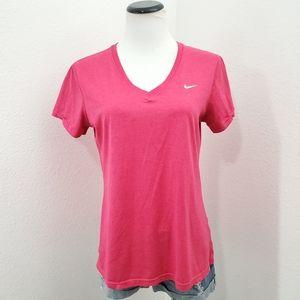 Nike Dri-fit Active VNeck Short Sleeve Top